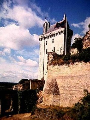 Château de Chinon in the Loire Valley