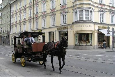 Horse & carriage in Innsbruck
