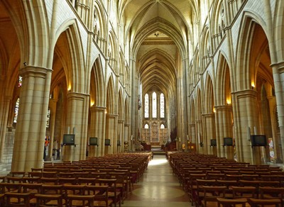 Cathedral of the Blessed Virgin Mary in Truro - Main Aisle
