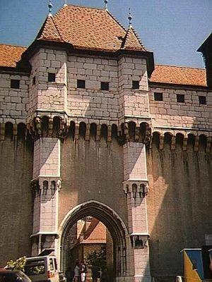 Château entrance - Annecy