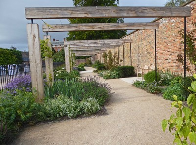 Beningbrough Hall and Gardens - The Pergola
