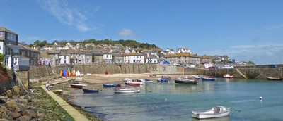 Harbor in Mousehole, Cornwall