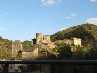 Village of Brousse-le-Chateau - France