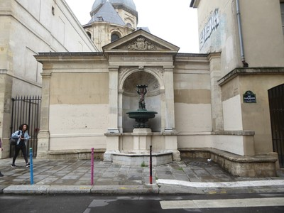 Fontaine du Lycee Charlemagne