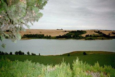 Lac de la Ganguise near Belflou