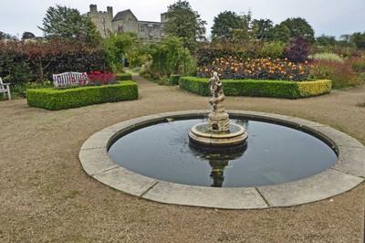 Fountain in the Helmsley Walled Garden