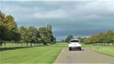 Leaving Beningbrough Hall and Gardens