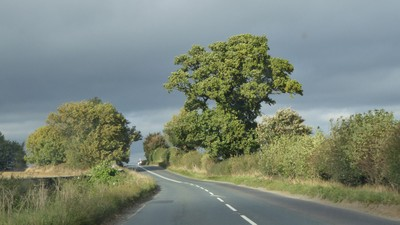 Driving from Beningbrough Hall back to Helmsley