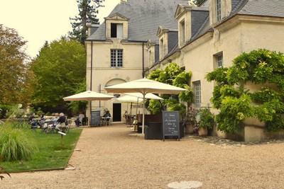 Café at Château Azay-le-Rideau (former stables)