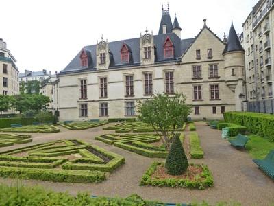 The Hôtel de Sens - the Gardens