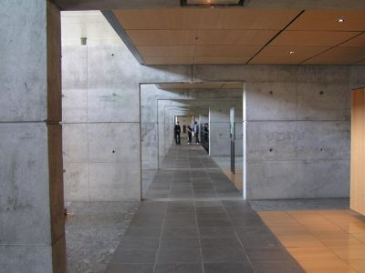Interior hallway at Bibracte - Saint-Léger-sous-Beuvray