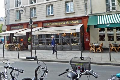 Au Bourguignon du Marais Restaurant on rue François Miron