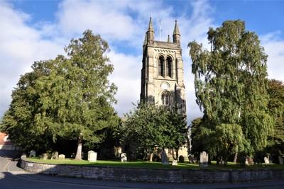 Church of All Saints in Helmsley, UK
