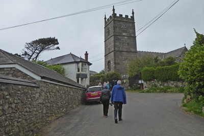 Saint Senara's Church in Zennor, Cornwall