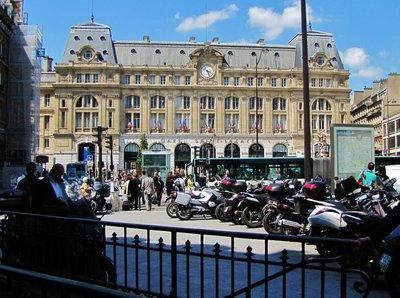 Gare Saint-Lazare in Paris