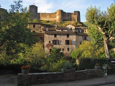 Brousse-le-Château, a Plus Beau Village of France