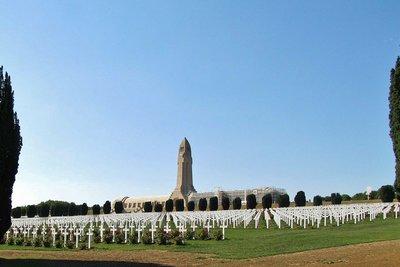 Douaumont Ossuary near Verdun