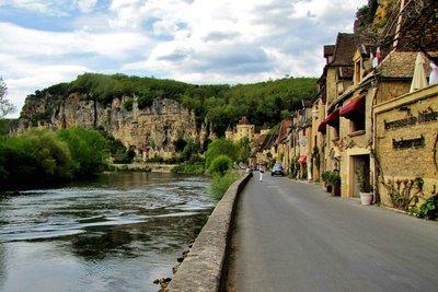 La Roque Gageac on the Dordogne River