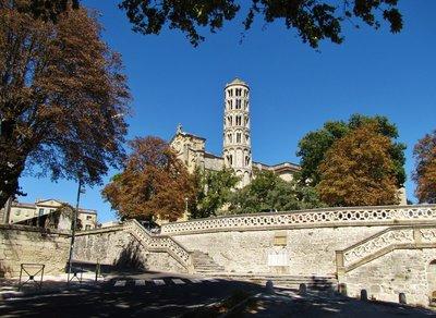 Cathédrale Saint-Théodorit et Fenestrelle in Uzès