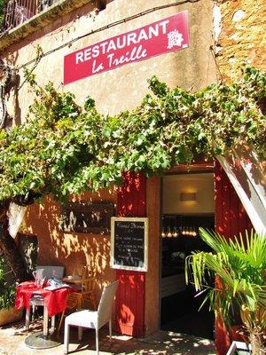 Restaurant La Treille in Roussillon