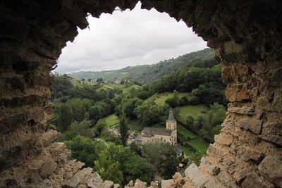 Belcastel, a Plus Beau Village in the Aveyron