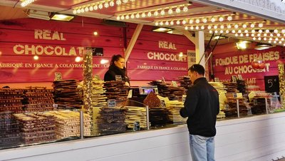 French chocolate . . . my favorite