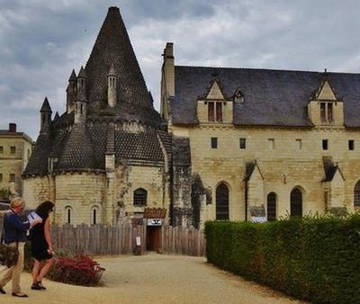 Kitchens of the Abbaye Royale de Fontevraud in 2016 (the top is missing)