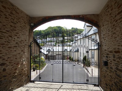 Stable Mews with a view across the valley
