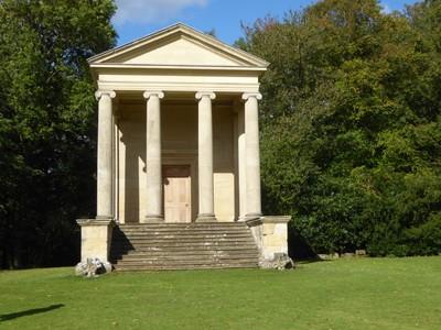 The Ionic Temple at Rievaulx Terrace