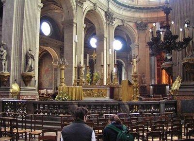 Eglise St. Sulpice interior