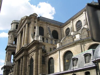 Eglise St. Sulpice on a nicer day