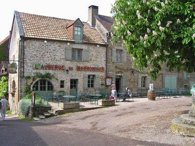 L'Auberge du Marronnier in Châteauneuf-en-Auxois