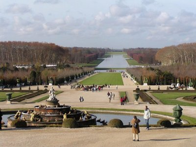 Taken above the Latona Fountain to the Grand Canal