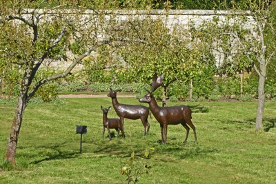Nunnington Hall - Garden Sculpture