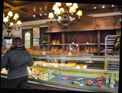 Paul's on rue de Buci - Breakfast
