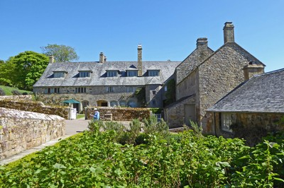 Trerice House from the tea room