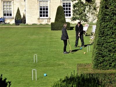 Nunnington Hall - Croquet on the Lawn