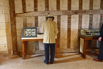 Ed Checking Exhibits - Helmsley Castle