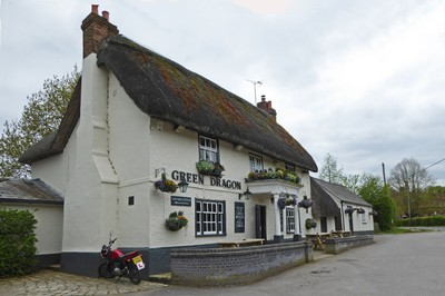 The Green Dragon Pub in the New Forest