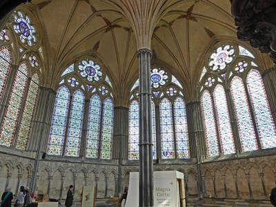 Salisbury Cathedral, Chapter House and Magna Carta Room