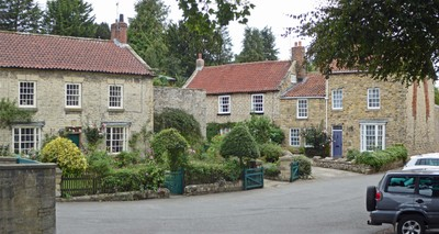 Area around the Beck Isle Museum in Pickering