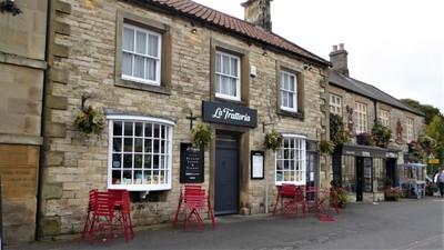 La Trattoria Restaurant in Helmsley, UK