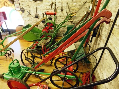 Farm Equipment in the Beck Isle Museum