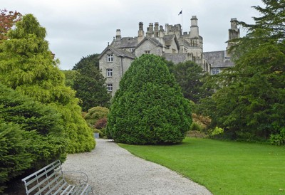 Sizergh Castle from the Gardens