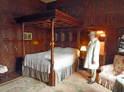Sizergh Castle - Bedroom