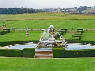 Castle Howard - Fountain