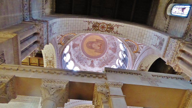 Dome in the Basilique of St. Martin