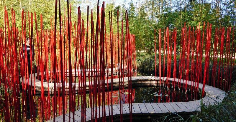 Water Garden at the Chaumont Garden Festival