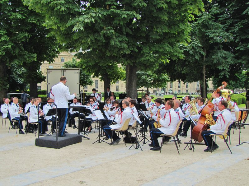 Prefecture of Police Band in the Tuileries