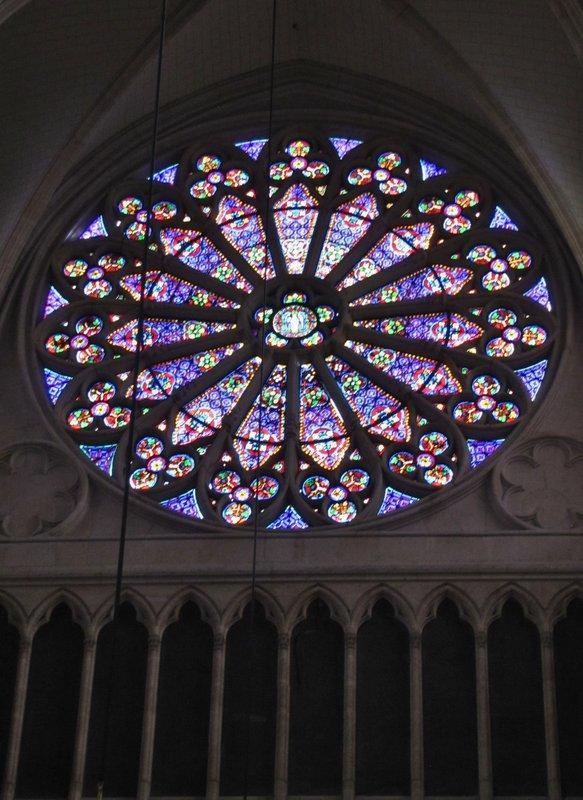 Rose Window at Basilique Sainte Clotilde